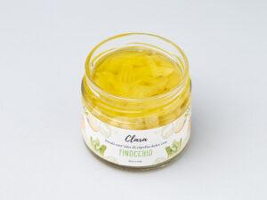 Petali sott'olio di cipolla dolce Clara con finocchio