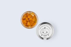 Petali sott'olio di cipolla dolce con zucca